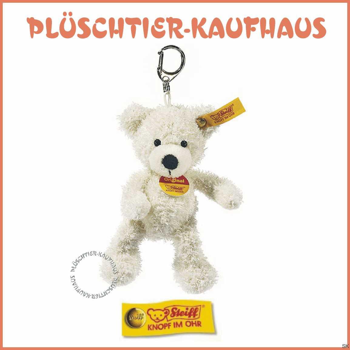 Teddybär Dame Lotte Als Schlüsselanhänger